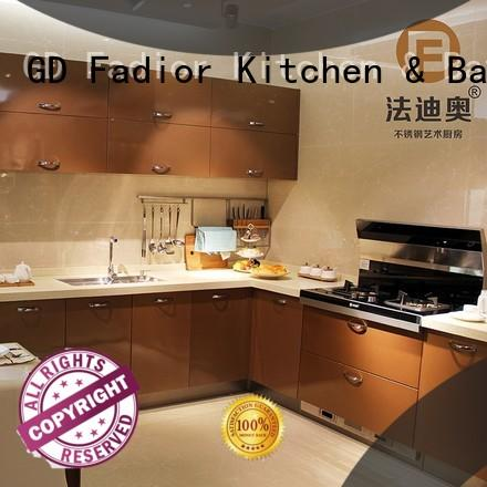 luxury stainless steel kitchen cabinets for sale with good price for home