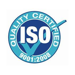 ISO9001:2008 certified in June