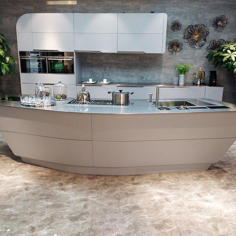 New Design Modular Stainless Steel Kitchen with 8mm thick Countertop - X009 The Ark