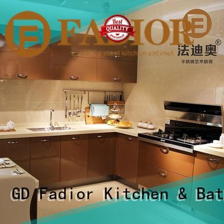 Fadior Stainless Steel Kitchen Cabinets Best stainless steel kitchen cabinets for sale manufacturers for home