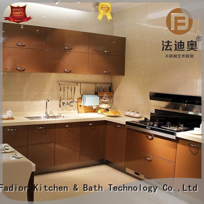 Fadior Stainless Steel Kitchen Cabinets venice metal kitchen storage cabinets inquire now for home