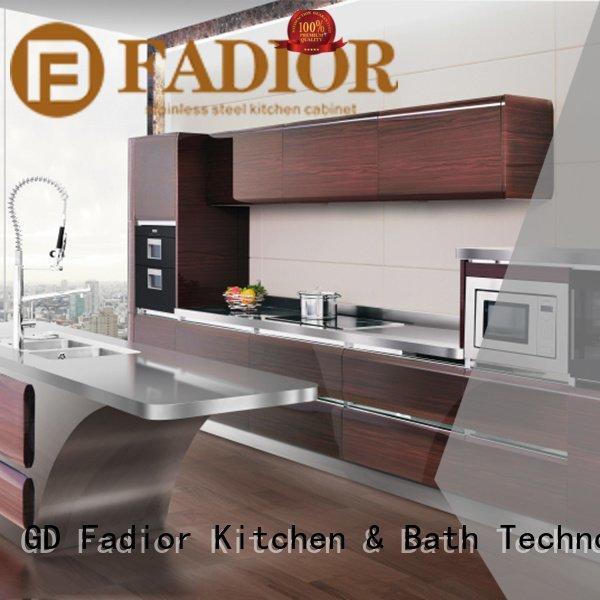 Fadior Stainless Steel Kitchen Cabinets Brand vinci american stainless steel wall cabinets kitchen versailles buckingham