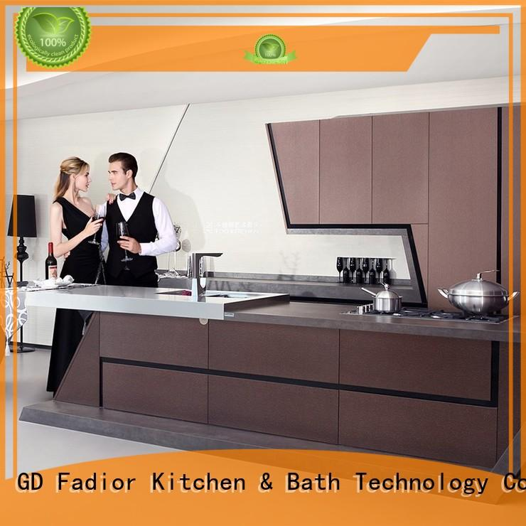 Fadior Stainless Steel Kitchen Cabinets modular metal kitchen cabinets for sale design for home