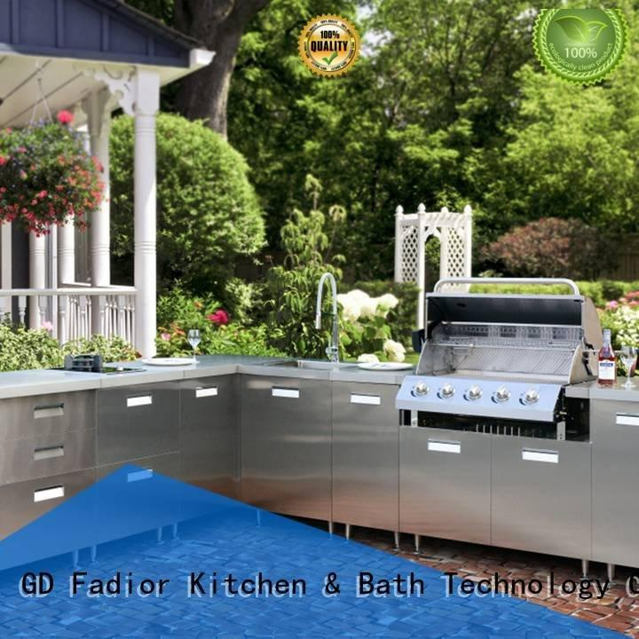 Fadior Stainless Steel Kitchen Cabinets island outdoor red stainless steel wall cabinets kitchen european